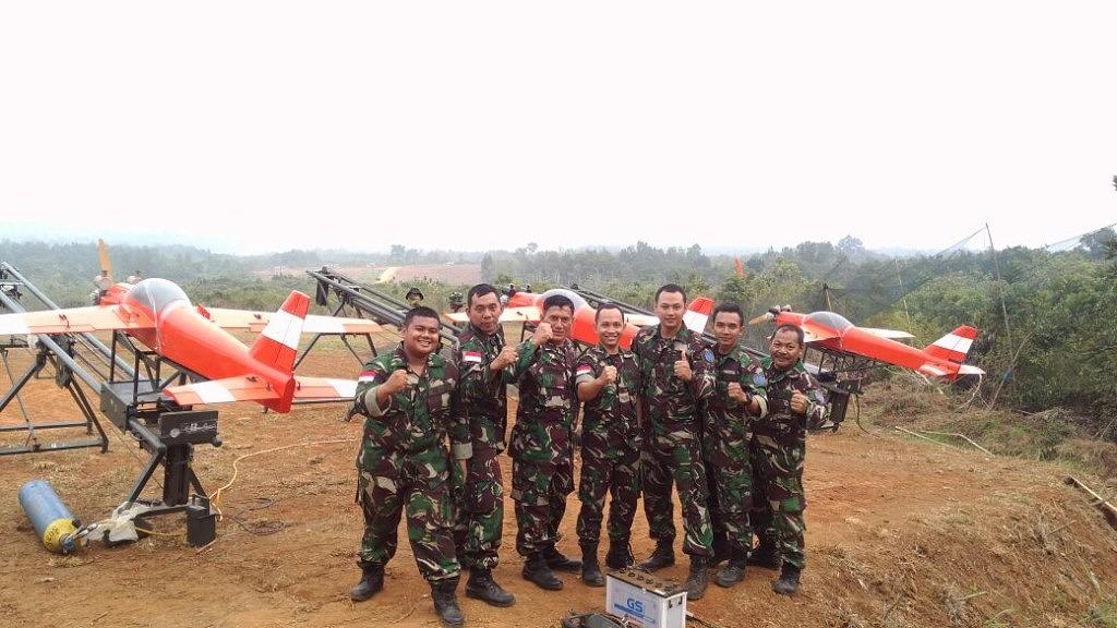 M-3 at Latihan Antar Kecabangan TNI AD Year 2017